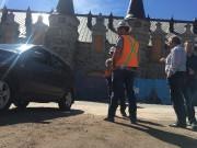 Le chantier du manège militaire à Québec, mercredi... (Le Soleil, Jean-Marie Villeneuve) - image 2.0