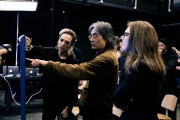 Marie Belzil (à droite) présente à Kent Nagano... (Photo fournie par Moment Factory) - image 4.0