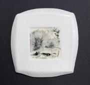Assiette, tableau ou objet de curiosité, cette jolie... (Le Soleil, Jean-Marie Villeneuve) - image 3.0
