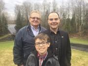 Daniel Martin, Steve et son fils Henri.... - image 10.0