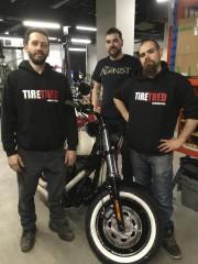 Les propriétaires de TireTred, Jimmy Lavoie et Hugo... (Le Progrès, Mélissa Viau) - image 1.0