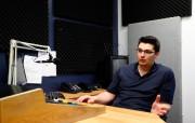 Olivier Turcotte est journaliste à la station de... (Photo Mathieu Bélanger, collaboration spéciale) - image 1.1