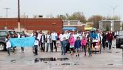 Marche pour la fibrose Kystique à l'hôtel Delta... (Le Quotidien, Yohann Gasse) - image 4.0