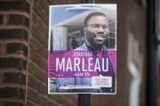 Pancarte électorale deJonathan Marleau dans Gouin.... (PHOTO FRANÇOIS ROY, LA PRESSE) - image 3.0