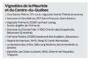 Cette année encore, les cinq vignobles du Centre-du-Québec... - image 1.0