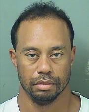 La photo d'identité judiciaire de Tiger Woods diffusée... (AFP) - image 2.0
