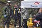 Le travail des plongeurs est particulièrement ardu en... (Le Soleil, Patrice Laroche) - image 2.0