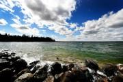 Le lac Clear porte très bien son nom:... (PHOTO BERNARD BRAULT, LA PRESSE) - image 4.0