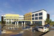 Une esquisse du nouvel hôtel qui sera construit... (fournie par la Ville de Mont-Joli) - image 3.0