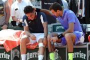 Nicolas Almagro (à gauche) et Juan Martin del... (Thomas Samson, Agence France-Presse) - image 2.0