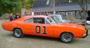 La mythique Dodge Charger orange desDukes of Hazzard... (PHOTO FOURNIE PAR LE SALON AUTO-SPORT DE QUÉBEC) - image 1.0