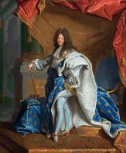 Modello du Portrait de LouisXIV en grand costume... (Photo fournie par le Musée des beaux-arts de Montréal) - image 2.0