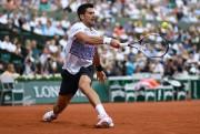 Novak Djokovic a eu besoin de cinq manches... (Photo Christophe Simon, AFP) - image 2.0