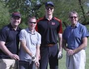 Gilles Bouchard (à gauche) faisait équipe avec Marc... (Manon Royer) - image 2.1