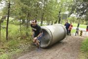 Six obstacles avaient été ajoutés au parcours cette... (Michel Tremblay) - image 1.0