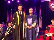 La célèbre anthropologue judiciaireKathy Reichsa reçu un doctorat... - image 1.0