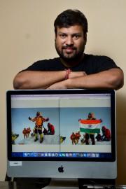 Lorsque Satyarup Siddhanta a vu la photo de... (AFP, Manjunath Kiran) - image 2.0
