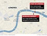 Lieux des deux attaques... (Carte fournie par La Presse canadienne) - image 1.0