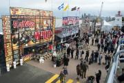 Le parc portuaire accueillait ce week-end la deuxième... (Sylvain Mayer, Le Nouvelliste) - image 3.0