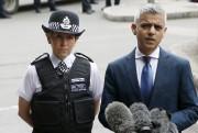 Le maire de Londres, Sadiq Khan, a répliqué... (AP, Alastair Grant) - image 3.0
