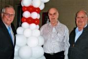 De gauche à droite: CLAUDE LAUNIER, GASTON LEVASSEUR... - image 5.0
