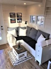 Le canapé fonctionnel setransforme en lit.... (fournie par Catherine Tessier-Baillargeon) - image 3.0