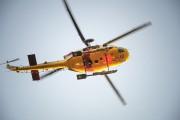 Un hélicoptère de l'Armée canadienne a survolé le... (Photo Le Quotidien, Gimmy Desbiens) - image 2.1