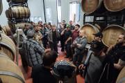 Les participants du dernier bottle releasechez Brasserie Dunham... (PHOTO ALEX CHABOT, FOURNIE PAR BRASSERIE DUNHAM) - image 5.0