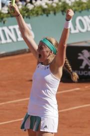 Jelena Ostapenko... (Photo Michel Euler, AP) - image 2.0