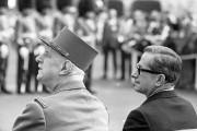 Le général Charles de Gaulle et le premier... (Photo Archives La Presse) - image 3.0