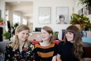 Fanny Drew, Geneviève Dulude-De Celles et Sarah Mannering... (PHOTO NINON PEDNAULT, LA PRESSE) - image 2.0