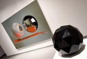 L'artiste propose aussi des sculptures et des sérigraphies.... (Photo Le Progrès, Rocket Lavoie) - image 1.0