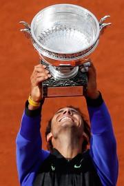 Rafael Nadal détient maintenant 15titres majeurs en carrière.... (Photo Petr David Josek, Associated Press) - image 1.1