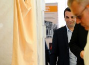 Le vice-président du Front national, Florian Philippot, arrive... (AFP) - image 2.0