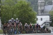 Les cyclistes ont parcouru les rues du centre-ville... (Photo Le Quotidien, Michel Tremblay) - image 5.0