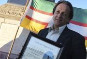 Le directeur du Conseil des arts du Saguenay,... (Photo Le Quotidien, Michel Tremblay) - image 2.1