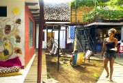 La cour intérieure de l'auberge De Boca en... (Photo Audrey Ruel-Manseau, La Presse) - image 7.0