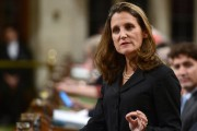 Chrystia Freeland... (ARCHIVES LA PRESSE CANADIENNE) - image 1.0