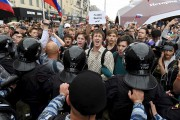 Le rassemblement à Moscou a été le plus... (AFP, Vasily Maximov) - image 2.0
