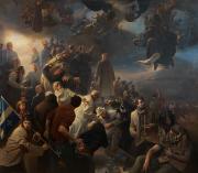 La peuinture complète du peintre new-yorkais Adam Miller... (Photo tirée du site d'Adam Miller) - image 2.0