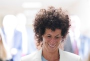 Andrea Constand en cour, mardi.... (REUTERS) - image 2.0