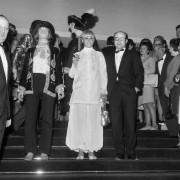 Anita Pallenberg entourée de Brian Jones et du... (AFP) - image 4.0