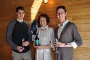 Abraham Meilleur, Anyk Valade et Linda Ritchie, propriétaires... (Photo fournie par O EffetVertSens) - image 1.0
