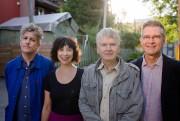 Les auteurs Daniel Canty, Chantal Neveu, Gyrðir Elíasson... (PHOTO NINON PEDNAULT, LA PRESSE) - image 3.0