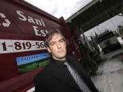 Sylvain Gagné, copropriétaire de Sani-Estrie... (photo archives la tribune) - image 1.0