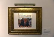 Les messages les plus célèbres apparaissent encadrés de... (Photo TIMOTHY A. CLARY, AFP) - image 1.0