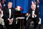 Donald Trump en compagnie du premier ministre australie,... (Archives AFP, Brendan Smialowski) - image 9.0