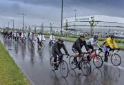 À Québec, les cyclistes ont passé du temps... (Photo Le Soleil, Patrice Laroche) - image 3.0