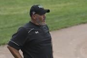 Malgré les deux défaites, l'entraîneur-chef des Voyageurs, Martin... (Michel Tremblay) - image 1.0
