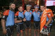 Les cyclistes affichaient un sourire de fierté à... (Photo La Presse, Robert Skinner) - image 3.0